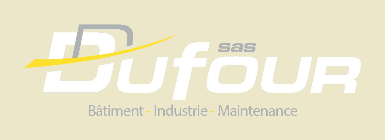 Logo Dufour - Blanc