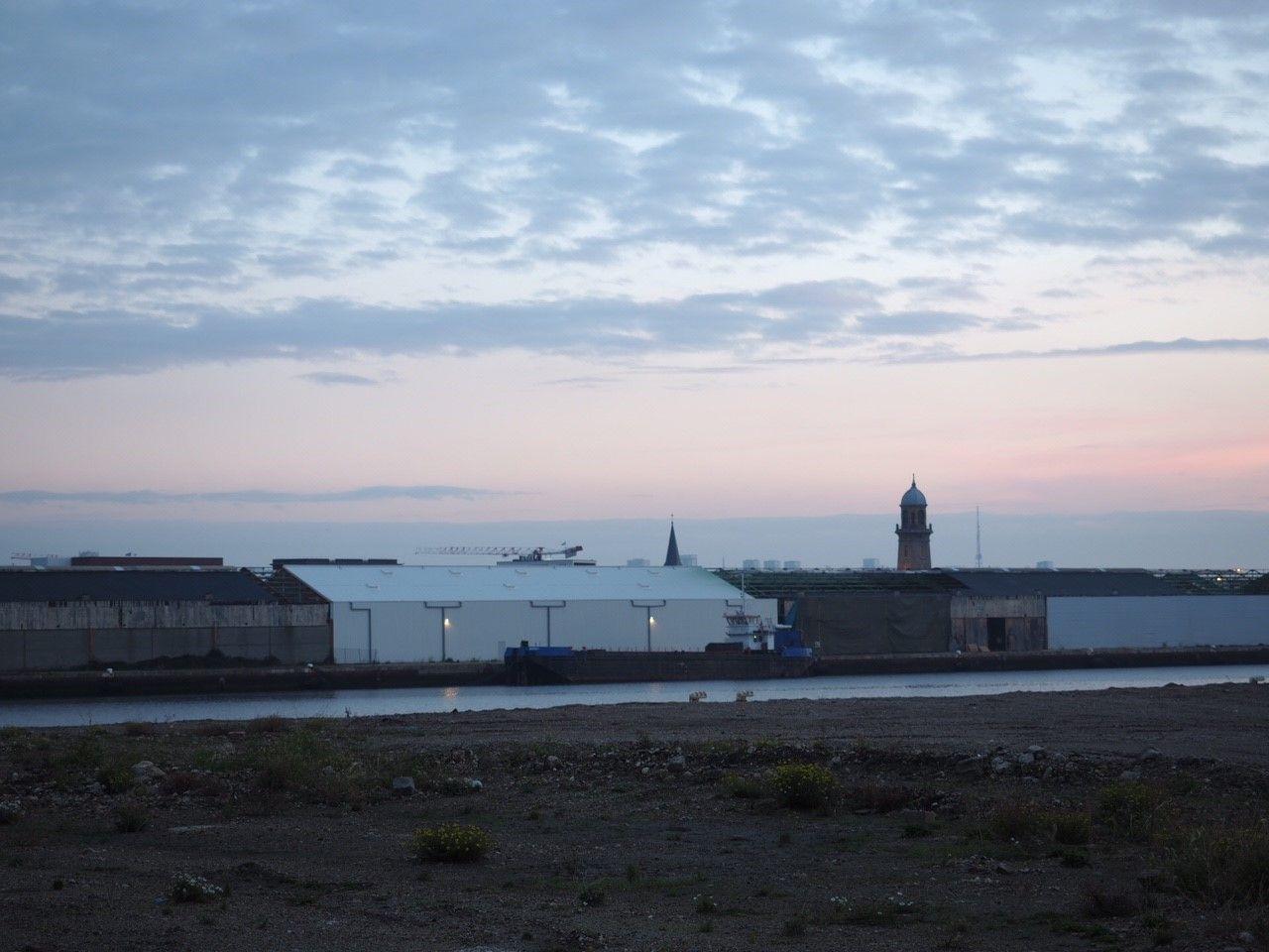 Chantier - réhabilitation hangar 42 Le Havre - Dufour