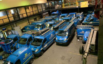 Le parc automobile chez Dufour