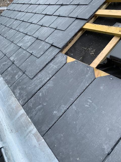 Réfection toiture en Ardoise pour un particulier - Dufour Le Havre