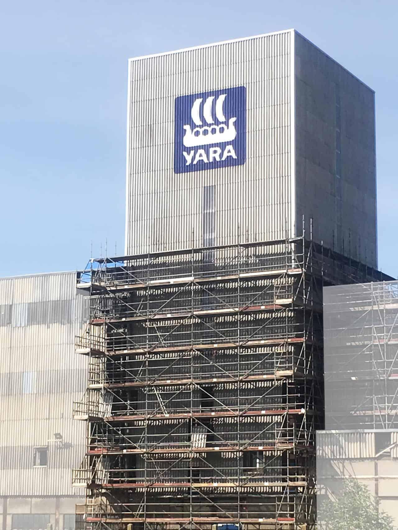 Yara - Bardage - Dufour Le Havre