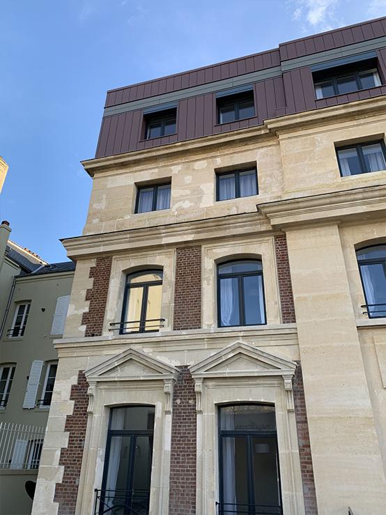 Banque de France - Façade et Bardage - Le Havre