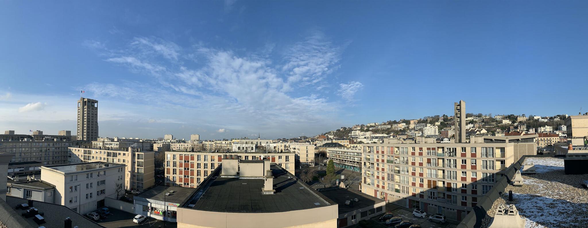 Ilot S63 - Le Havre - Rénovation énergétique de la toiture terrasse - Dufour Le Havre