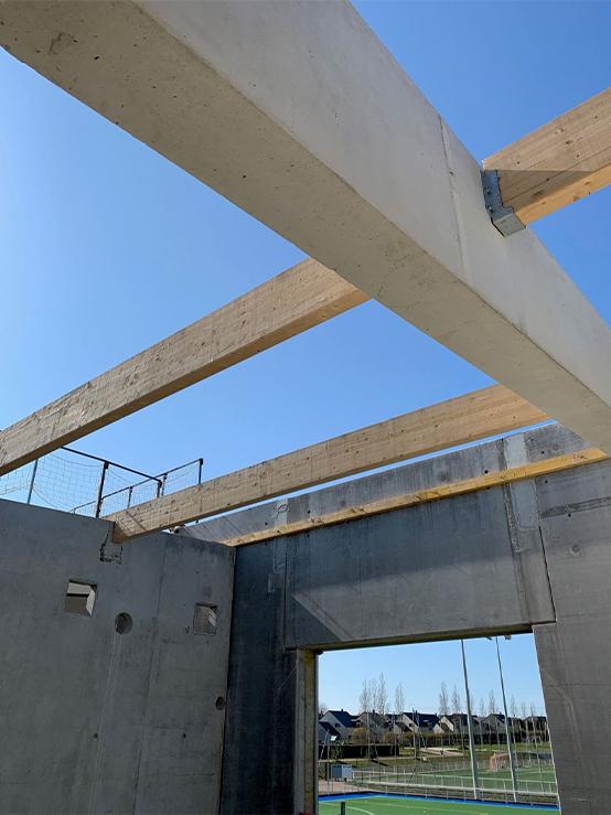 Stade Youri Gagarine - Restructuration - Toiture et étanchéité