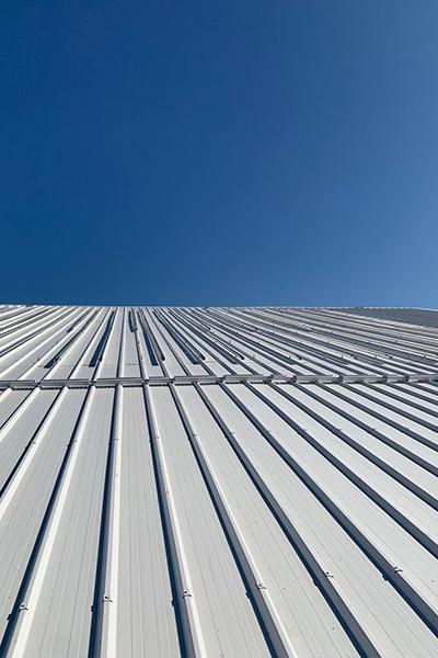 Salle Eric Tabarly - Réfection de toiture - Dufour Le Havre