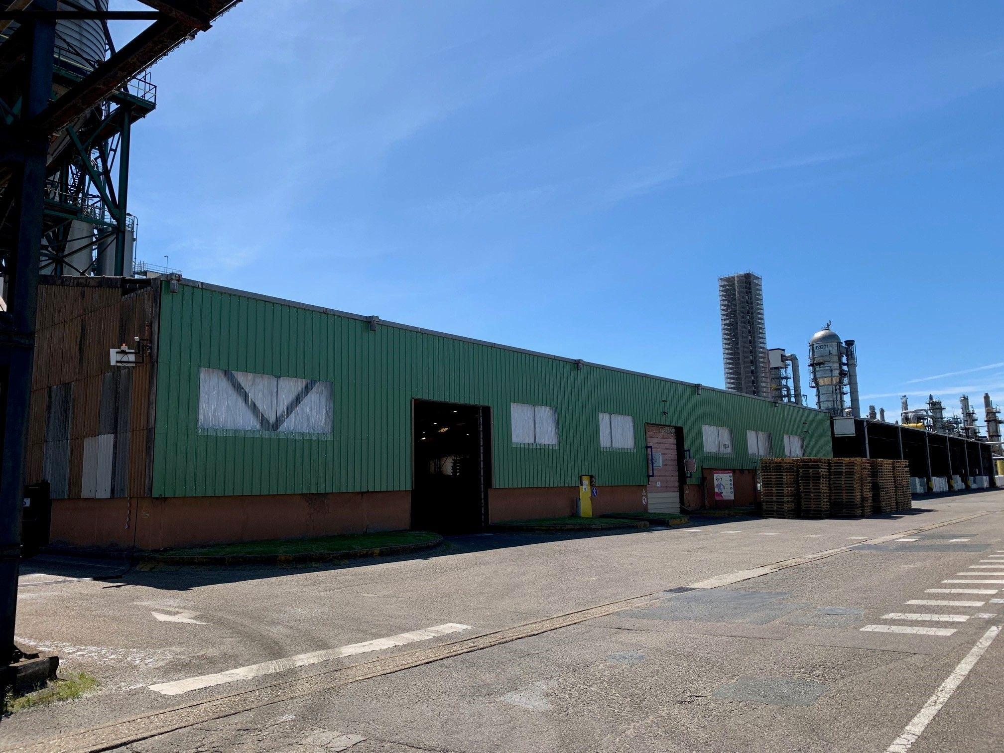 Total Petrochemical - Bardage Bac Acier Amiante - Dufour couverture au Havre