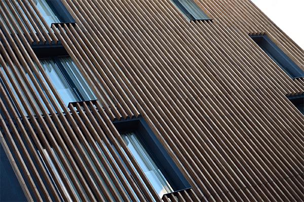 Réfection de bardage en bois - Dufour Le Havre